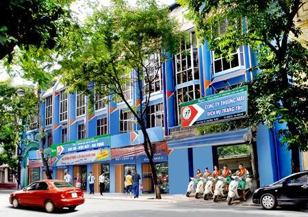 Khu đất 2.100m2 ở số 12-14 Tràng Thi được xem là một mảnh đất vàng, tiềm năng rất lớn cho kinh doanh.