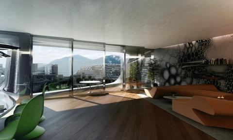 Esfera City Center: Dự án khu dân cư với kiến trúc tổ ong độc đáo