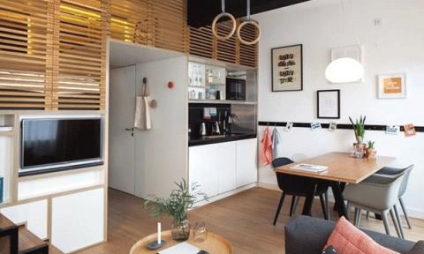 Căn hộ 25m² khiến vạn người mê vì quá đẹp, quá tiện nghi
