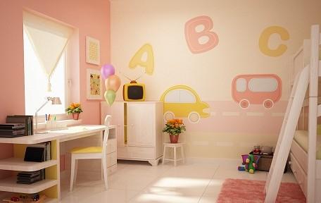 Thiết kế phòng ngủ dành riêng cho cô công chúa nhà bạn