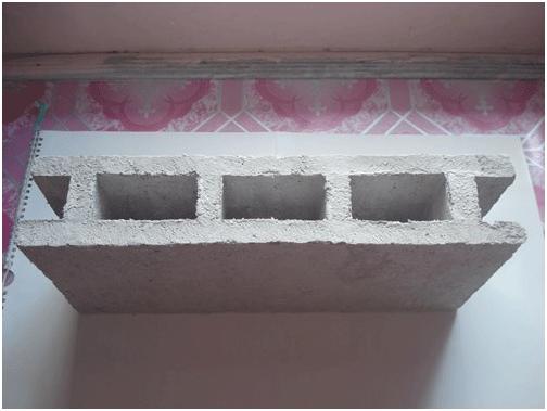 Sản phẩm gạch không nung làm từ giấy phế thải.
