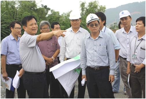 Bí thư Thành ủy, Chủ tịch HĐND TP Trần Thọ trực tiếp kiểm tra dự án TĐC trên địa bàn Q. Cẩm Lệ.