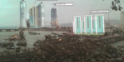 Hội KTS Khánh Hòa vừa gửi văn bản lên UBND tỉnh này đề nghị tạm dừng xây căn hộ cao cấp 48 tầng của Tập đoàn Mường Thanh.