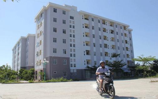 Nhà E khu A2 chung cư nam cầu Cẩm Lệ (thuộc xã Hòa Châu, huyện Hòa Vang, TP Đà Nẵng), nơi có nhiều phụ nữ đơn thân bị Trần Quang Hai lừa -Ảnh: Trường Trung