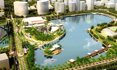 Hà Nội: Thúc tiến độ Công viên hồ điều hòa Nhân Chính