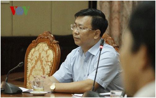 Ông Võ Nguyên Phong, Phó Giám đốc Sở Xây dựng Hà Nội
