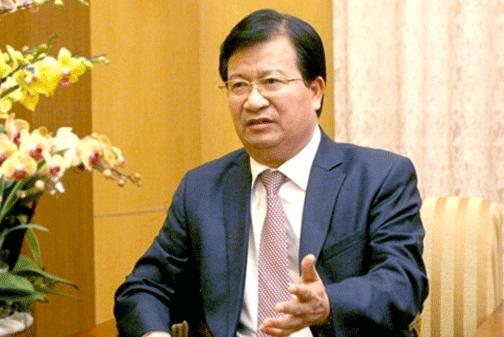 Bộ trưởng Xây dựng Trịnh Đình Dũng - Ảnh: VGP/Lê Sơn