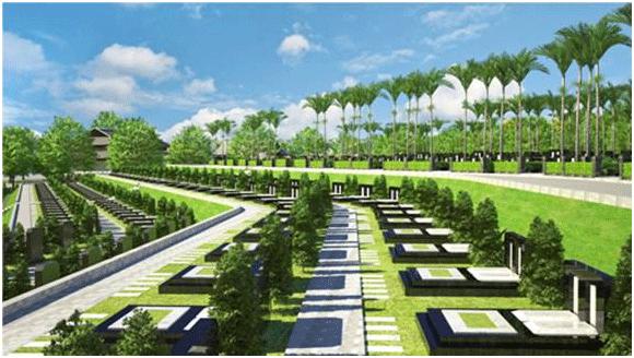 Nghĩa trang Trần Phú sử dụng hình thức cát táng, hỏa táng hiện đại không gây ô nhiễm môi trường cho khu vực xung quanh (ảnh minh họa).