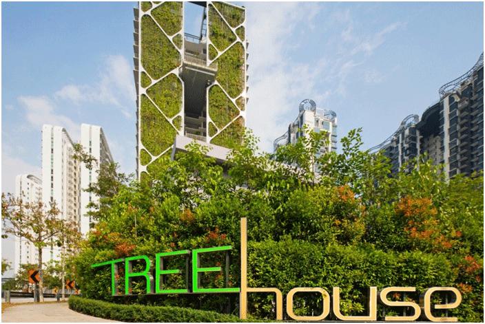 Công trình xanh nổi tiếng nhất Singapore.