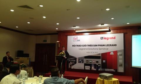 Hội thảo giới thiệu sản phẩm Legrand