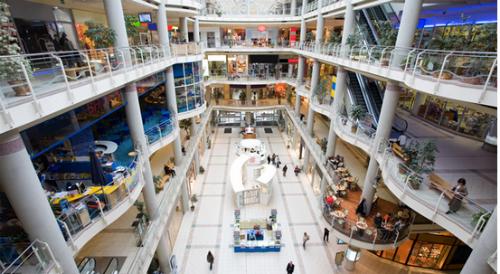Phố mua sắm ngầm sẽ dành hơn 18.000m2 cho cửa hàng và trung tâm thương mại. Ảnh minh họa.