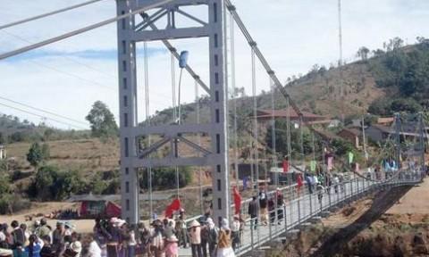 Đủ vốn xây 4.145 cầu dân sinh cho đồng bào dân tộc