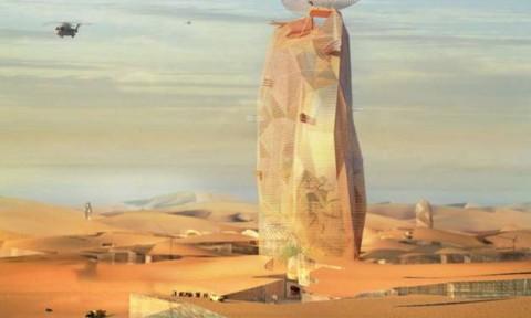 Tiết lộ kế hoạch xây dựng thành phố thẳng đứng giữa sa mạc Sahara