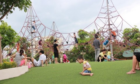 Quản lý sân chơi trẻ em trong đô thị