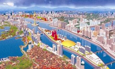 Khởi động lại dự án đô thị ven sông Hồng