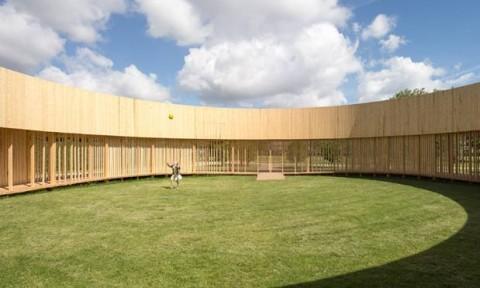 Around Pavilion – Không gian gỗ ngoài trời thoáng đãng