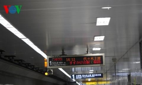 Đèn LED – giải pháp tối ưu cho hệ thống ga ngầm ở Tokyo