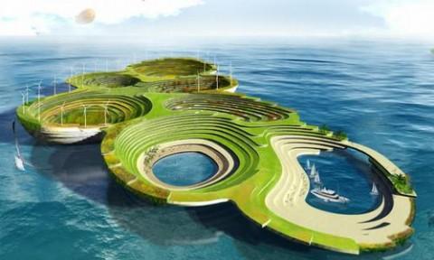 7 thiết kế sáng tạo cho các thành phố nổi bền vững trong tương lai