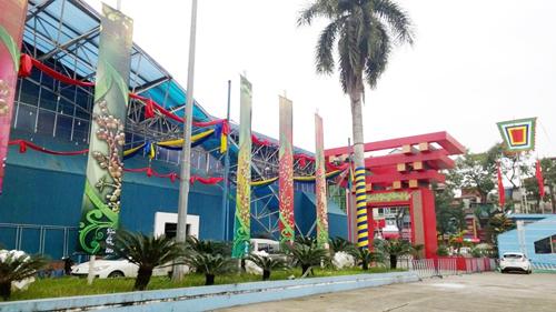 Dự án Trung tâm hội chợ triển lãm Quốc gia dự kiến được xây dựng tại trục Nhật Tân - Nội Bài (Hà Nội) sẽ thay thế cho Trung tâm hội chợ triển lãm Việt Nam hiện tại (148 Giảng Võ – Hà Nội).