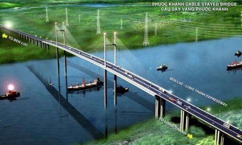 Động thổ xây dựng gói thầu J3 cầu dây văng Phước Khánh