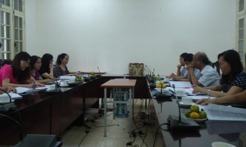 Bộ Xây dựng nghiệm thu đề tài của Học viện Cán bộ Quản lý Xây dựng và Đô thị