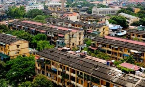 Gỡ nút thắt trong cải tạo, xây dựng lại nhà chung cư cũ