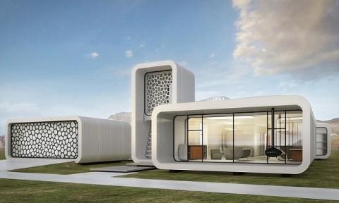 Dubai xây tòa văn phòng đầu tiên trên thế giới bằng in 3D