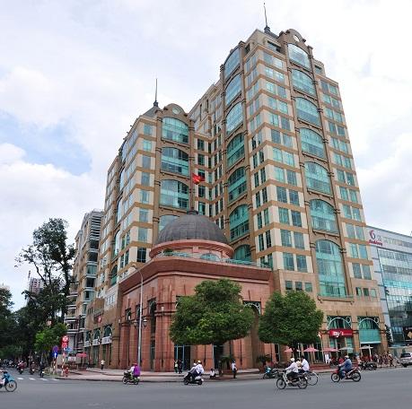 Tòa nhà Metropolitan tại trung tâm TP.Hồ Chí Minh