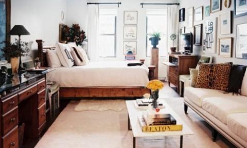 Căn hộ duy nhất một phòng vẫn gọn đẹp