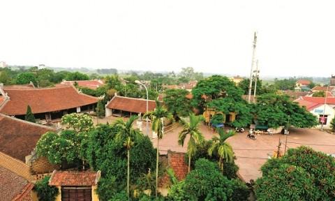 Sơn Tây xây dựng nông thôn mới gắn với bảo tồn văn hóa