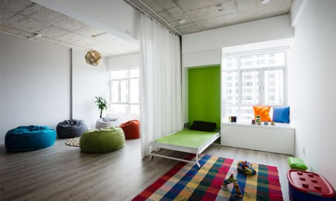 Các căn hộ 3 phòng ngủ cho gia đình nhiều người