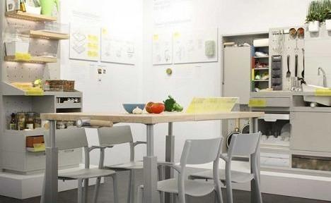 Nội thất bếp công nghệ tự động và thông minh