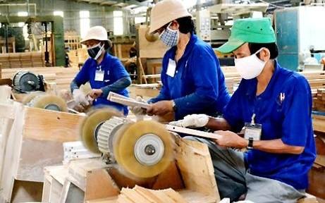 6 tháng: kim ngạch xuất khẩu các sản phẩm từ gỗ tăng 18,5%
