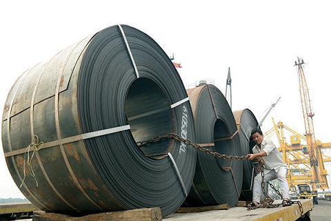 Nhập khẩu thép Trung Quốc tăng cao trong thời gian vừa qua