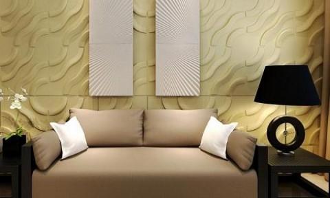 Tấm ốp tường 3D: Giải pháp trang trí cho không gian nhỏ hẹp