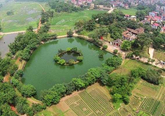 Không gian làng Cổ Loa, Đông Anh, Hà Nội