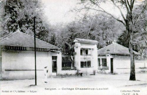 Trường THPT Lê Quý Đôn là trường học lâu đời nhất của Sài Gòn. Ảnh: Panoramio.