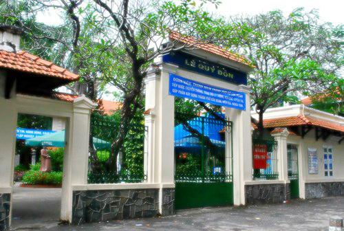 Trường Lê Quý Đôn hiện nay.