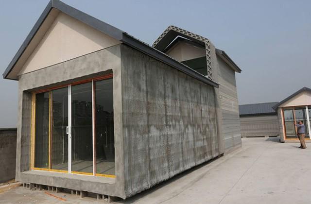 Nhà in 3D tại Trung Quốc.