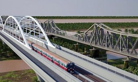 Hà Nội cần thống nhất vị trí cầu đường sắt vượt sông Hồng