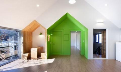 """Độc đáo lối kiến trúc """"nhà trong nhà"""""""