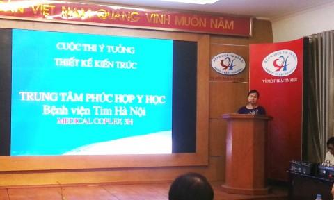 Phát động cuộc thi ý tưởng thiết kế Trung tâm Phức hợp y học Bệnh viện Tim Hà Nội