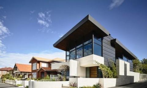 Nét hiện đại của biệt thự nghỉ dưỡng ở ngoại ô nước Úc