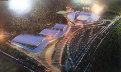 Vĩnh Phúc: Lựa chọn phương án thiết kế Khu Liên hợp thể thao tỉnh