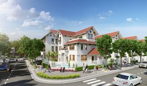 39 căn biệt thự đẹp nhất ở khu phức hợp Vincom Hà Tĩnh