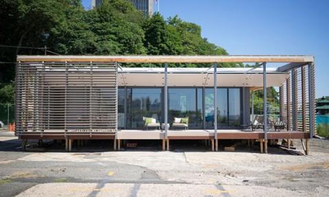 Sure House – ngôi nhà dùng năng lượng mặt trời, thiết kế đặc biệt để chống bão