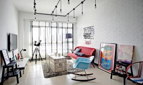 Sửa căn hộ ở Singapore vừa đẹp vừa tiết kiệm