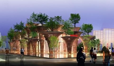 """""""Nhà Việt Nam"""" vào Top thiết kế ấn tượng nhất Milan Expo 2015 do CNN bình chọn"""