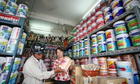 Sôi động thị trường sơn Việt Nam