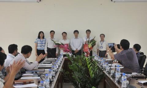Lễ trao Quyết định bổ nhiệm và bổ nhiệm lại cán bộ Trường Đại học Kiến trúc Hà Nội